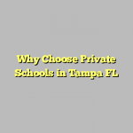 Why Choose Private Schools in Tampa FL