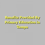 Benefits Provided By Primary Education in Tampa