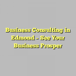 Business Consulting in Edmond – See Your Business Prosper
