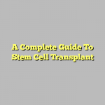 A Complete Guide To Stem Cell Transplant